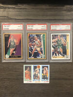 Larry Bird Lot 3 PSA 10 & 1980 NM Rookie Topps 1990 1991 1992 Fleer Skybox RC