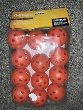 Golf Digest Practice And Training Golf Balls Pack Of 24 Orange