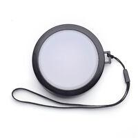62mm White Balance Lens Cap with Filter Mount for DV DC DSLR SLR