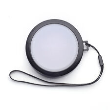 62mm White Balance Lens Cap with Filter Mount for DV DC DSLR SLR