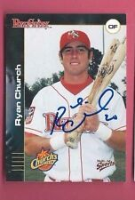 RYAN CHURCH Autograph 2001 MULTI-AD REDSTIXX