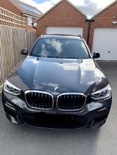 Genuine Pair BMW X3/X4 G01 G02 Kidney Grill CHROME/SILVER