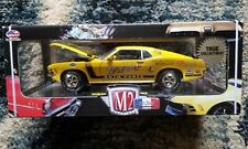 M2 Machines 1:24 Auto Drags 1970 Ford Mustang Boss 302 Webers RARE NIB NOS