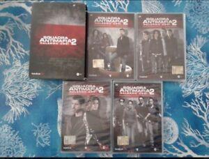 SQUADRA ANTIMAFIA - PALERMO OGGI 2 - COFANETTO 4 DVD - 8 PUNTATE