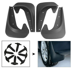 4pcs Universal Car Mud Flaps Splash Guard Fenders for Front or Rear Accessories