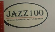 Aufkleber/Sticker: Jazz100 Förderkreis New Orleans Jazz Parade (091016180)