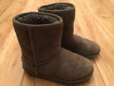 Uggs Ugg Kids Grey Classic Short Boots. Size 13. Play Condition