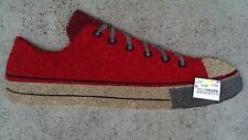 Red Shoe - Profile Cut - Natural Coir on PVC Backing Door Mat / Wall Art