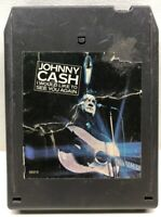Johnny Cash I Would Like To See You Again 8 Track Tape Cartridge CA 35313