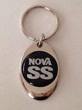 Chevrolet Nova SS Keychain Chrome key chain Chevy