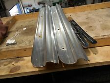 Jaguar XK8 Kick Plates. Set of 4 pieces. Genuine Straight. 1996-2006