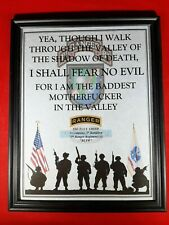 """Mc-Nice: Army """"Valley of the Shadow of Death"""" All Units Framed Personalized"""