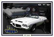 1971 Pontiac GTO Judge Convertible Poster Print