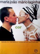 JOAO, MARIA & MARIO LAGINHA - 1998 - Tourplakat - Cor - Touposter