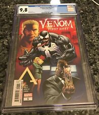 VENOM:FIRST HOST #1 CGC 9.8 FIRST APPEARANCE OF TEL-KAR 1ST SYMBIOTE HOST