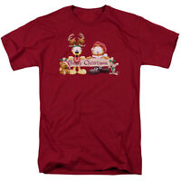 Garfield Christmas Banner T-Shirt Sizes S-3X NEW