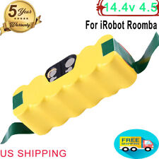 Replace for iRobot Roomba 14.4v Battery 4.5Ah R3 500 600  650 700 800 900 Series