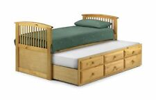 Pine Contemporary Beds with Mattresses