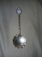 Mississippi in Red with Riverboat (top) on Souvenir Spoon - pre-owned