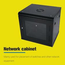 "19 ""  TOP Wandgehäuse Netzwerkschrank Stahl Serverschrank 9HE Tiefe 500mm GL-06"