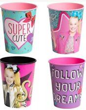 Jojo Siwa Bow Party 16 Oz Plastic Reusable Cup BPA Free Awesome!🎀🌈🦄