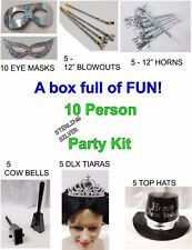 New Years Eve ULTIMATE STERLING SILVER Party Kit for 10 People 1-4A