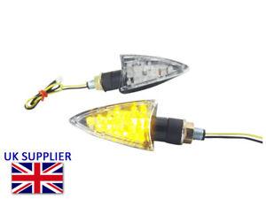 LED Moto Clignotants - Flèche Modèle - pour Yamaha YZF-R125 R3 R6 R1 MT07 MT09