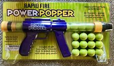 HOG WILD Rapid Fire 12 shot POWER POPPER with 12 refills Air powered bonus pouch