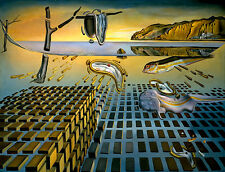 Salvador Dali Disintegration Persistence Memory 8X12 canvas print reproduction