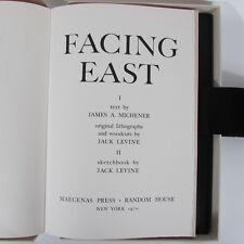 FACING EAST Jack Levine Limited Edition Portfolio Prints Signed James A Michener