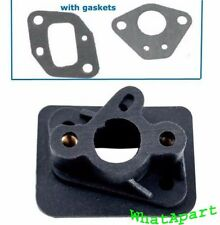 43cc, 49cc Manifold  w/Gaskets  for 2-stroke stand Up gas scooter, Pocket bikes