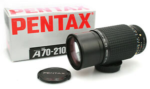 SMC Pentax -A 70-210mm f/4 Zoom Lens -Boxed with Caps -Pentax K Mount -Near Mint
