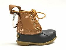 ***LL Bean Boot Keychain Ornament Sold Out LIMITED EDITION (Tan/Brown) RARE!***