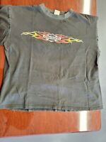 Vintage 2003 Daytona Beach Bike Week T-Shirt - Fear No Evil (Size=Large)