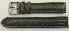 Luxury & High Quality 0 23/32in Reptile Lizard Leather Watches Bracelet New