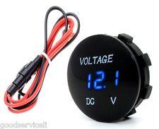 Car Motorcycle New DC12V Red LED Panel Digital Voltage Meter Display Voltmeter