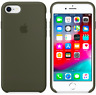Dunkle Olive Apple Echt Original Silikon hülle für iPhone 8 / 7 / SE 2 (4.7)