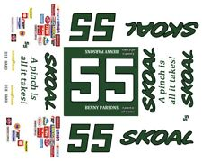 #55 Benny Parsons Skoal 1985-1987 1/18th Scale Waterslide Decal