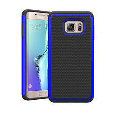Étuis, housses et coques bleu en plastique rigide Samsung Galaxy S6 edge pour téléphone mobile et assistant personnel (PDA)