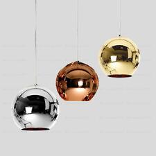 Mirror Glass Ball Lamp Pendant Light Modern Art Chandelier For Bar Cafe Club