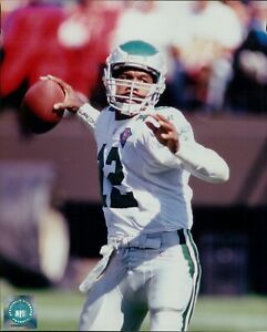 Randall Cunningham Philadelphia Eagles NFL Licensed Unsigned Glossy 8x10 Photo A