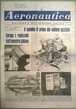 AERONAUTICA SETT.LE N.27 DEL 04/07/64  - EUROPA IL SATELLITE DI PROVA - 116