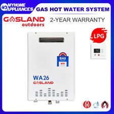 GASLAND 26 Litre LPG Gas Hot Water System Instant Continuous Flow 6 STAR