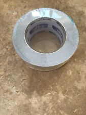 50mm 50M Roll Silver Aluminium ALI FOIL Adhesive Heating Duct Metal Ducting Tape