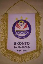 Football team FC SKONTO RIGA (LATVIA)  big pennant (white or Blue)