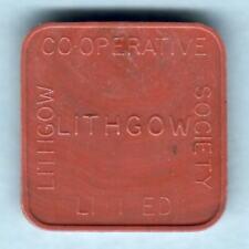 Australia.  BREAD TOKEN.  Lithgow Co-Op Society Ltd.. Half Loaf..  UNC