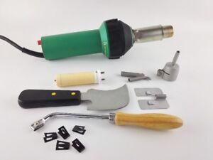 UK Stock 1600w Plastic Welder Gun Hot Air Gun/ Heat Gun Protable Flooring Tools
