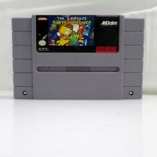 Nintendo SNES the Simpsons Barts Nightmare Original Cartridge