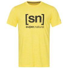 natural logotipo té merino funktiosshirt negro Super