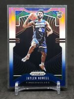 2019-20 Prizm Jaylen Nowell RC, Rookie Red White + Blue Holo, Timberwolves